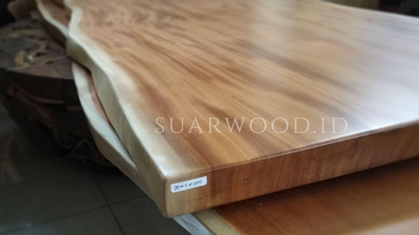 mahogany live edge slabs indonesia